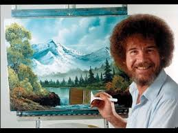 Oil Painting Meme - resim sevinci the joy of painting with bob ross 24 youtube bob