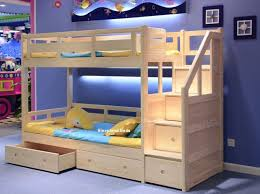 Luxury Solid Pine Bunk Bed Sleepland Beds - Solid oak bunk beds with stairs