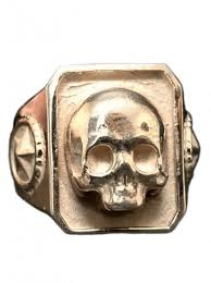 urban skeleton ring holder images Barber skull quot ring by lor g jewellery png