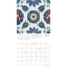 Kalendar 2018 Nederland Tree Iznik Fliesen Iznik Tiles Mini Kalender 2018