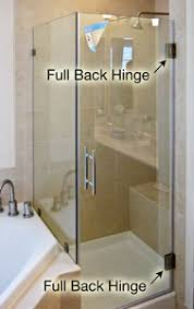 Pivot Hinges For Shower Doors Pivot Shower Door Cost Comparison Dulles Glass And Mirror