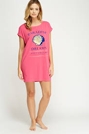 juicy couture print front night dress limited edition discount
