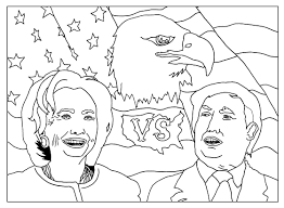 presidency of donald trump coloring page coloring pages