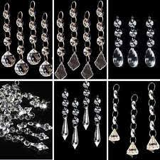 Plastic Crystals For Chandeliers Crystal Garland Ebay