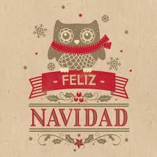 feliz navidad christmas card like the text background colors out owl for reindeer use