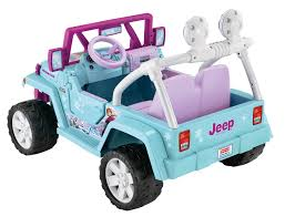 jeep girls frozen 12 volt powered ride on girls toy car ebay