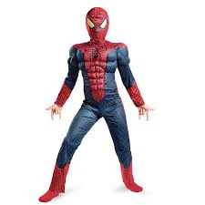 my family fun spider man movie muscle light up halloween costume