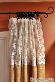 Lace Trim Curtains Lace Trim Curtains Inspiration Mellanie Design