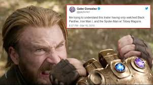 Foto Memes - avengers infinity war trailer is out and funny twitter memes