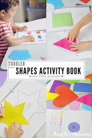 toddler shapes activity book problem solving skills free