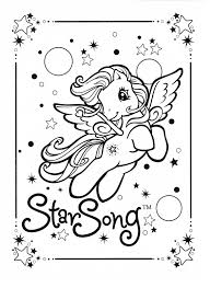 my little pony coloring page mlp star song coloring pages