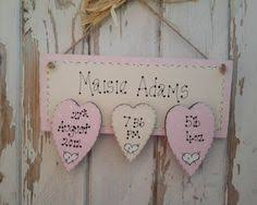 baby plaques personalised new baby wooden plaques and signs personalised with