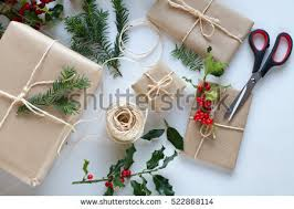 Beautifully Wrapped Gifts - directly above stock images royalty free images u0026 vectors