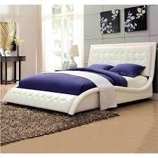Curved Bed Frame Uncategorized Charming White Tufted Bed Astonishing White