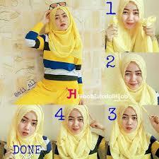 tutorial jilbab remaja yang simple lifestyle fashion