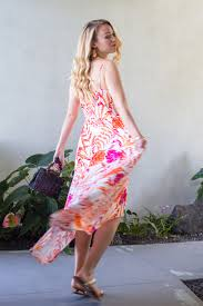 tropical maxi dress style by joules