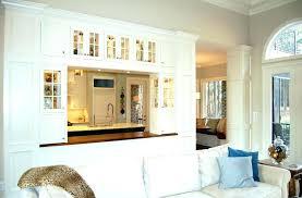 kitchen divider ideas kitchen living room dividers divider kitchen and living room