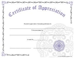 6 best images of housekeeping appreciation certificate templates