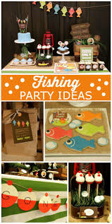 Birthday Decorations For Husband At Home by Best 25 Fishing Party Themes Ideas On Pinterest Gone Fishing