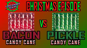 where to buy pickle candy canes uncanny eats cristmas treats bacon candy vs pickle candy
