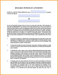 Ohio Power Of Attorney Form Pdf 7 power of attorney form florida week notice letter