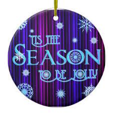 tis season jolly ornaments keepsake ornaments zazzle