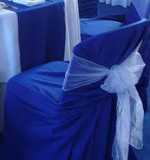 blue chair covers blue chair covers for hire rent or rental in onekawa