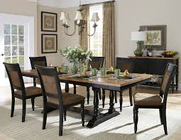 8 Piece Dining Room Sets 2 Tone Dining Room Furniture Dining Room Design