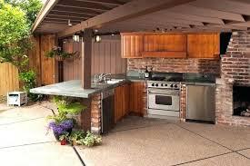 cheap outdoor kitchen ideas patio kitchen ideas architecture rustic patio with outdoor kitchen
