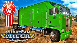 kenworth aerodyne truck kenworth k100 caminhão casa american truck simulator american