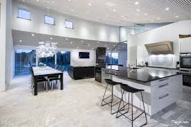 luxury photo kitchen design with amazing lighting idea in ceiling