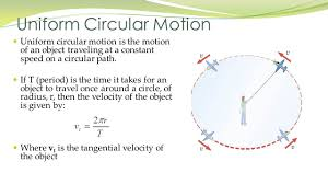 chapter 5 uniform circular motion is the motion of an object
