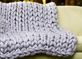 chunky knit blanket super chunky merino wool throw arm knit