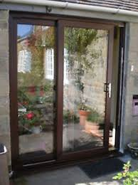 Upvc Sliding Patio Doors Upvc Sliding Patio Doors 1601 1700mm Wide Mahogany Brand New High