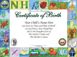 8 birth certificate templates word excel pdf formats