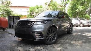 2018 range rover velar startup and review youtube
