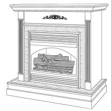 Desa Ventless Fireplace - cfgf28nt desa vent free gas fireplace