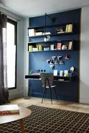 deco chambre bureau coin bureau mis en lumière par 1 couleur différente chambre ado