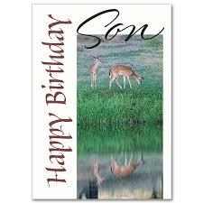 happy birthday son family birthday card for son