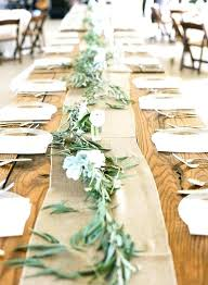 burlap wedding decorations burlap table setting ideas burlap wedding food table decorations