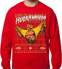 someone bought this you can make a hulk hogan ugly christmas
