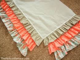 Crib Bed Skirt Diy Ruffled Crib Skirt Tutorial The Ribbon Retreat Nursery