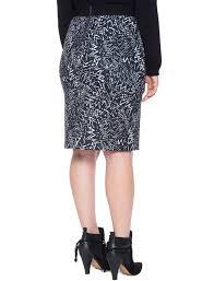 pencil skirts printed scuba pencil skirt women s plus size skirts eloquii