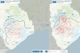 of houston cus map map of groundwater levels and subsidence in the