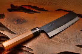 all purpose knives kurouchi santoku and nakkiri knife 165mm nakkiri is also called nakiri saikiri knife
