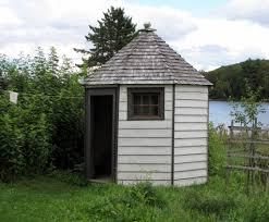 octagon outhouse i wonder if that u0027s the bottom wipe on the u2026 flickr