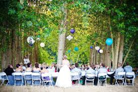 backyard wedding reception for a more faithful ceremony