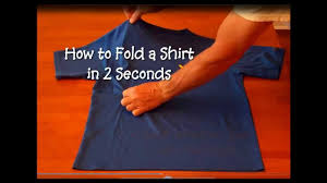 cna essential skills how to fold a shirt in 2 seconds short