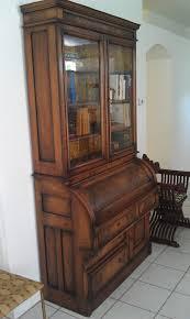 Roll Top Secretary Desk Antique Best Home Furniture Design