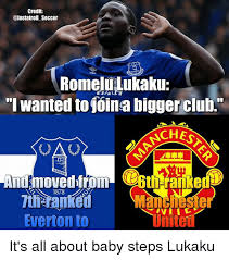 Everton Memes - credit romelilukaku i wanted to foina bigger club ches uao and moved